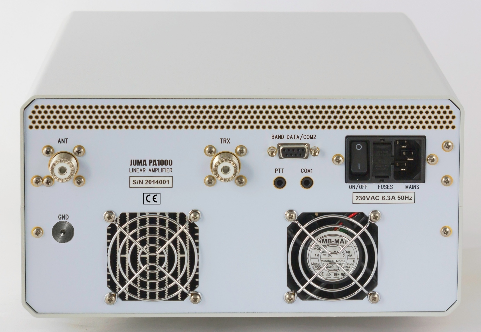 JUMA PA1000 1kW HF Amplifier