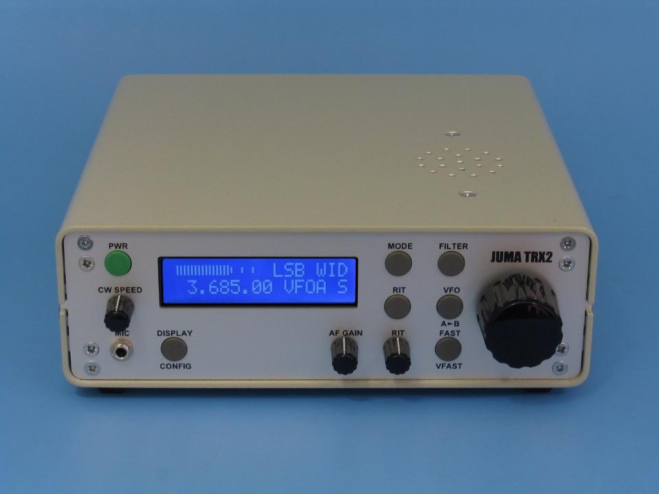 JUMA-TRX2 SSB-CW transceiver